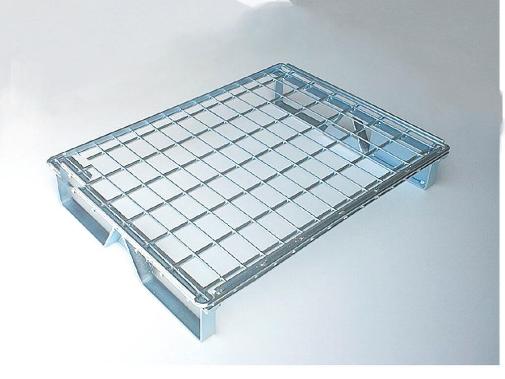 Pallet In Metallo.Metal Pallet Wire Mesh Cages